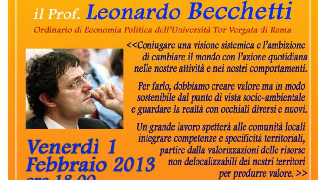 """""""Il Mercato siamo Noi"""" – relaziona Leonardo Becchetti"""