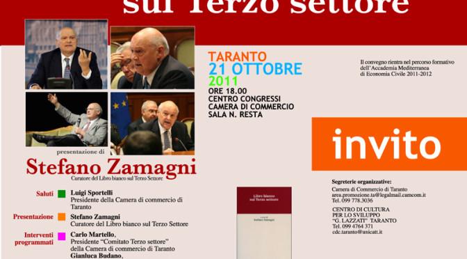 Intervento del Prof. Stefano Zamagni a Taranto