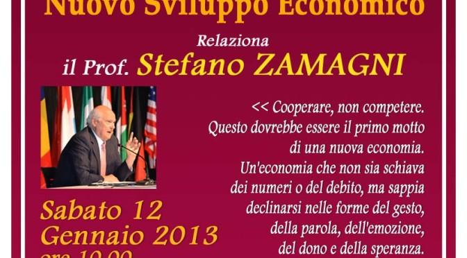 Incontro – evento con il prof. Stefano Zamagni