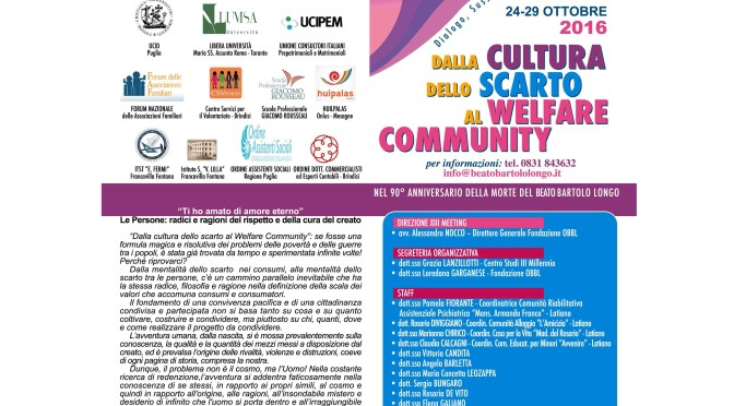 XIII° Meeting della Cittadinanza Piena ed Universale – Latiano