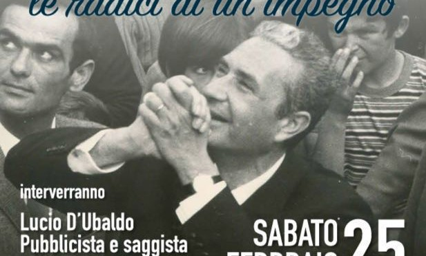 """Taranto, 25 febbraio: """"Aldo Moro: le radici di un impegno""""."""